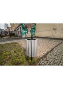 GENF-WPC köztéri hulladékgyűjtő