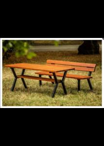 Gladiátor kültéri asztal mahagóni